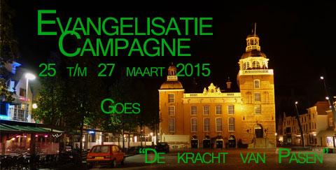 Evangelisatie campagne Goes